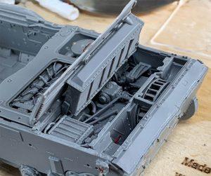 37066 T-54 LATE TRANSMISSION SET  37021 TIRAN 4 Sh EARLY TYPE. INTERIOR KIT Peter Robinson