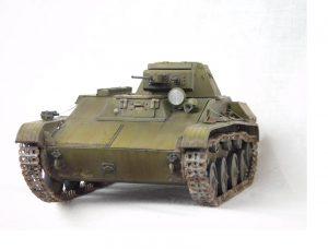 35215 T-60 EARLY SERIES. SOVIET LIGHT TANK. INTERIOR KIT Nikolay