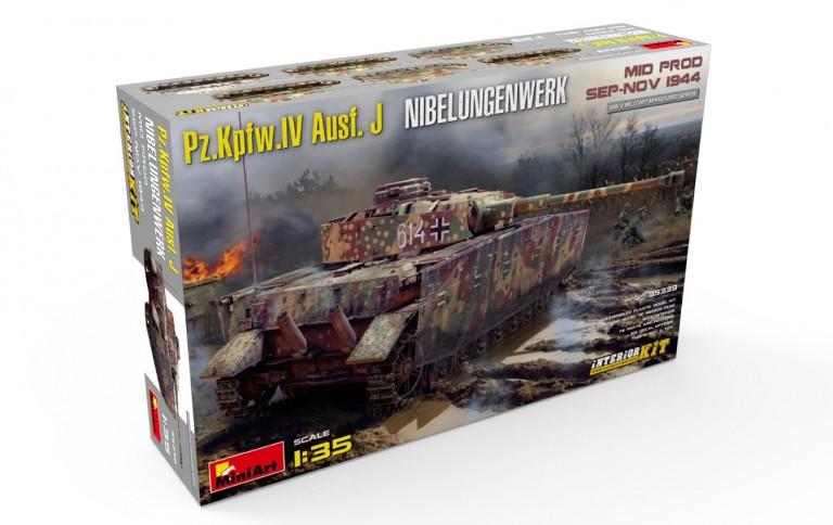 35339 Pz.Kpfw.IV Ausf. J Nibelungenwerk. MID PROD. SEP-NOV 1944 INTERIOR KIT