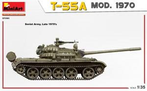 Side views 37094 T-55A MOD. 1970 INTERIOR KIT