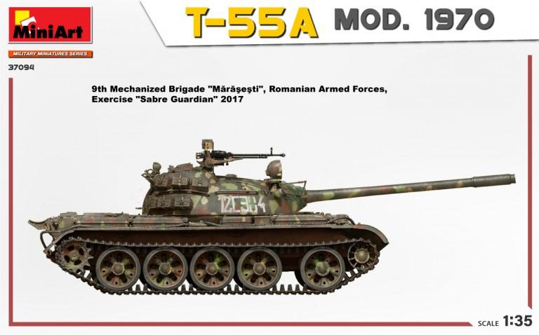 37094 T-55A MOD. 1970 INTERIOR KIT