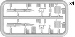Content box 37094 T-55A MOD. 1970 INTERIOR KIT