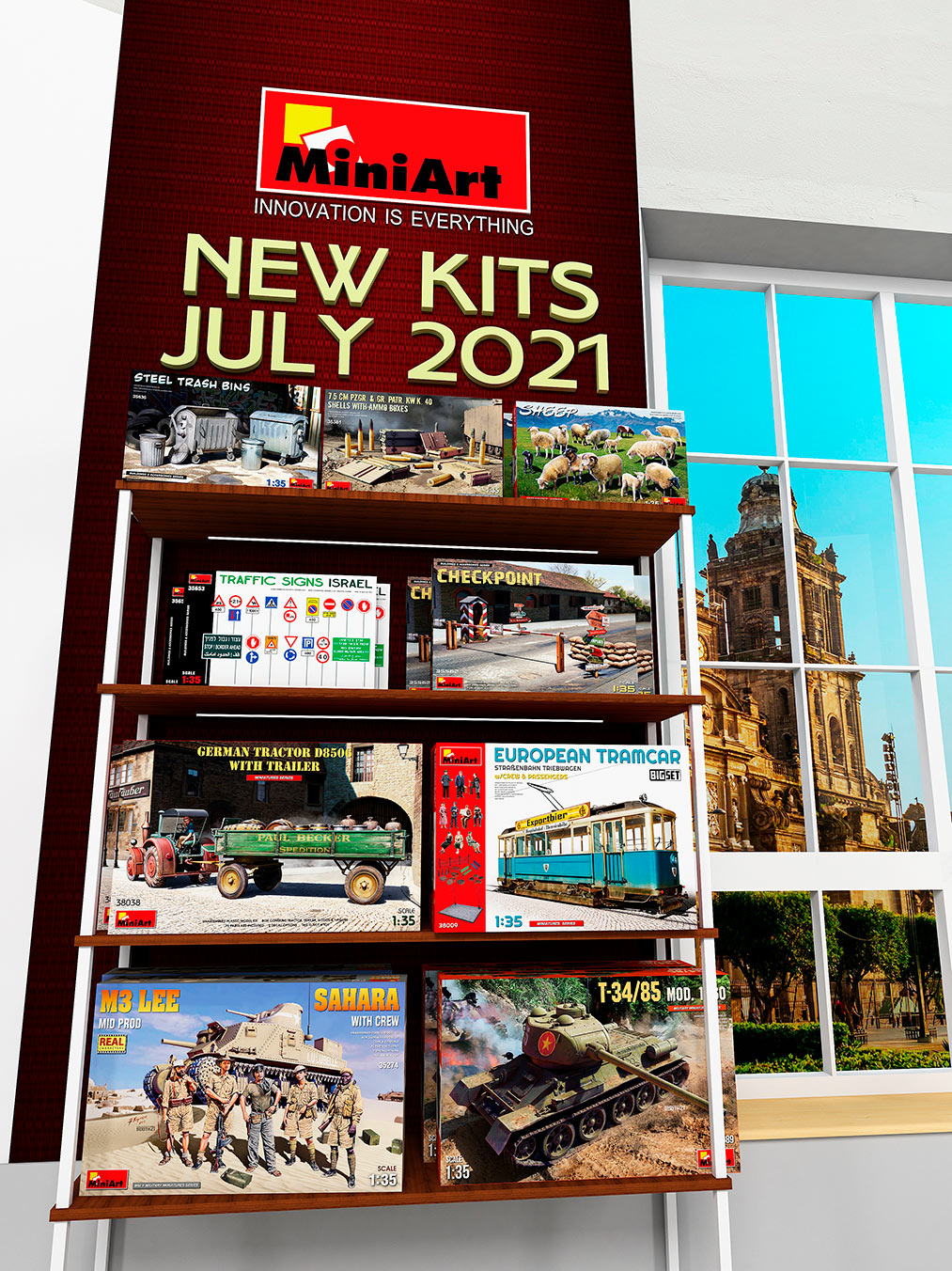 Neue Kits zum Verkauf angeboten
