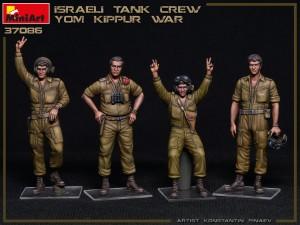 New Photos of Kit: 37086 ISRAELI TANK CREW. YOM KIPPUR WAR