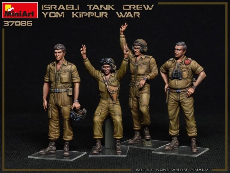 37086 ISRAELI TANK CREW. YOM KIPPUR WAR