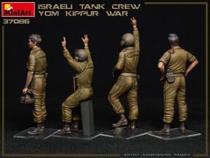 Photos 37086 ISRAELI TANK CREW. YOM KIPPUR WAR